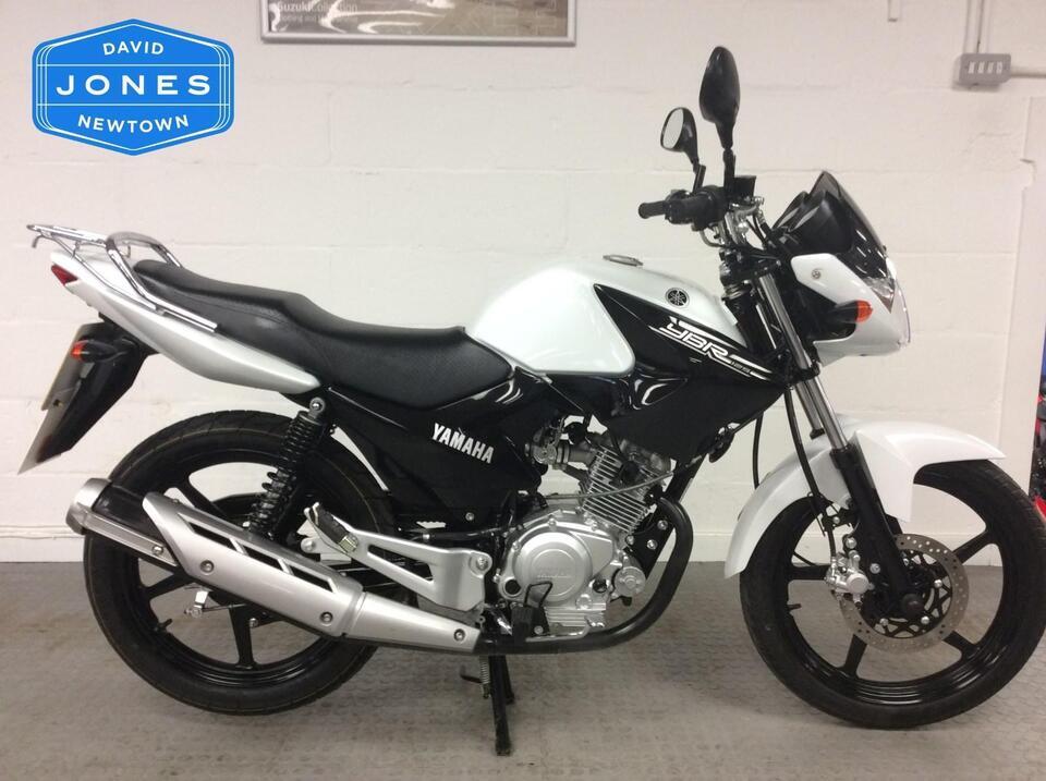 Yamaha YBR125 YBR 125 2015 / 15 White