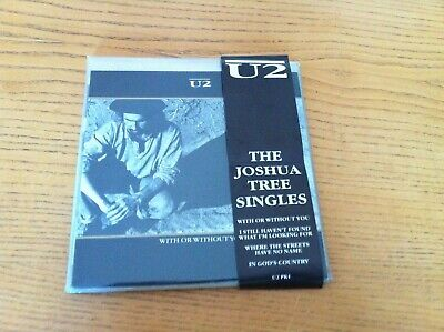 U2 - FAN CLUB ISSUE - THE JOSHUA TREE SINGLES - 4 SINGLES IN COVERS - U2 PK1  for sale  Birmingham