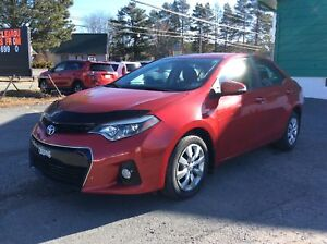"2014 Toyota Corolla BE SURE TO GRAB THE BEST DEAL!! ""S"" SEDAN w/"