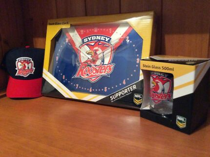Bundle of Sydney Roosters Merchandise
