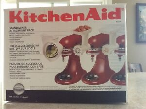 Never Been Used Kitchen Aid Stand Mixer attachment pack