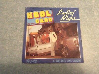 Disque vinyle 45 tours /stéphanie , kool & the gang, ladies night