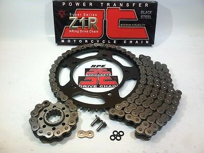 2012-2015 NC700X JT Z1R 520 Z3 16/43 OEM Ratio X-Ring Chain and Sprockets Kit