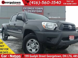 2015 Toyota Tacoma V6 | 4X4 | DOUBLE CAB | TOUCH SCREEN | AUX IN