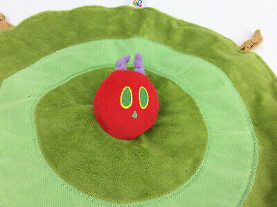 Baby Security Blanket Hungry Little Caterpillar Round Kids Preferred Eric Carle  - Hungry Little Caterpillar