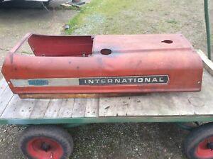 international 574 tractor parts - bonnet