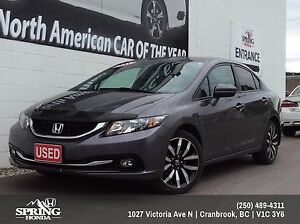 2015 Honda Civic Touring $162 Bi-Weekly