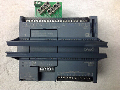 Siemens S7-1200 Cpu 1214c Acdcrly 6es7-214-1be30-0xb0 232-4ha30-0xb0 Switch