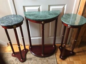 Beautiful Bombay decoration tables marble top