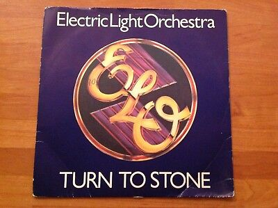 ELECTRIC LIGHT ORCHESTRA - 1977 Vinyl 45rpm 7-Single - TURN TO STONE