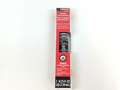 Ford Motorcraft Shadow Black Lacquer Touch-Up Paint 7343A New OEM for sale  Shipping to Canada