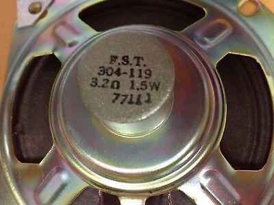 Vintage Fst Original Part304-119 3.2 Ohms 1.5 W 4 Speaker New Old Stock