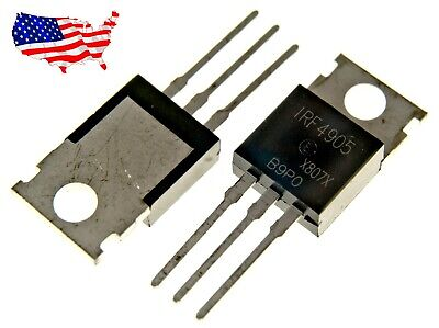 Irf4905 - 2 Pcs P-channel 74a 55v To-220 Power Mosfet - From Usa