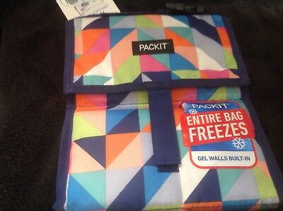 PackIt Freezable Lunch Bag - No Ice Pack Needed Freezable Ice Pack