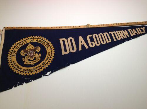 Pennant Felt - National BSA - Do A Good Turn Daily - See  Photo