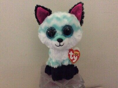 Ty Beanie Boo PIPER the Fox Claire's Exclusive 6