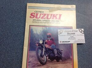 Clymers Manual for Suzuki Singles 1964-1981