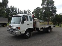 Man with Flat top crane truck for hire East Maitland Maitland Area Preview