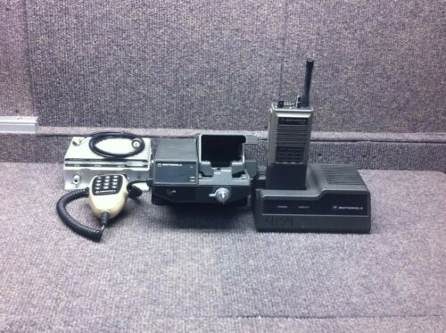 MOTOROLA RADIO VEHICULAR ADAPTOR NTN5612A MVTA CONVERTACOM for HT600 With PA!!