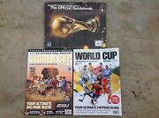 3 soccer World Cup souvenirs******2010,2014 Paradise Campbelltown Area Preview
