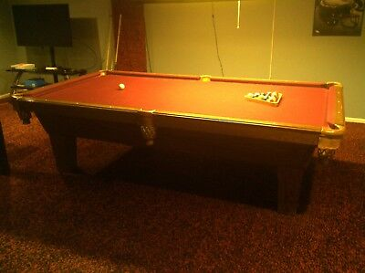 Olhausen Pool Table. 9 Ft. Excellent Condition.
