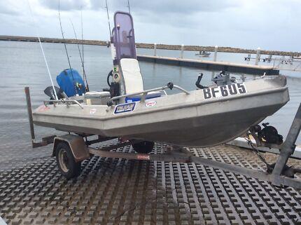 Alutech Scorpion 400 14 ft/4.5 m Aluminium Boat & Polmac Trailer