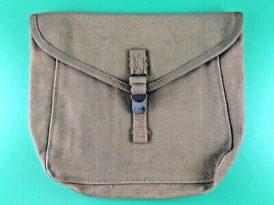 WWII US M-1928 Haversack Meatcan Pouch Meat Can