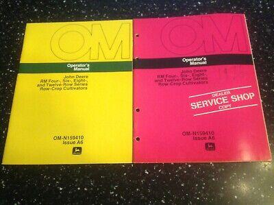 John Deere Rm 4 6 8 12 Row Series Row Crop Cultivators Operators Manual