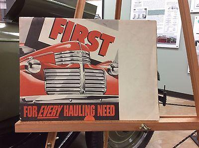 1940's GMC Trucks Series Brochure/Poster - RARE