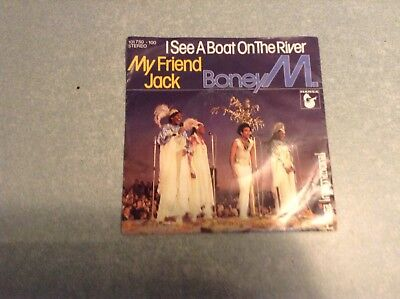 Disque vinyle 45 tours B2 /boney m,i see a boat on the river