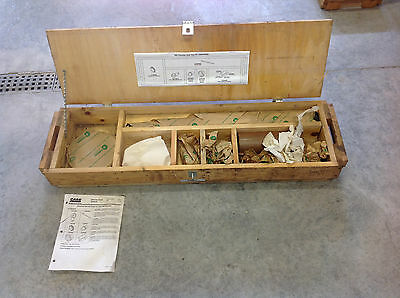Case Otc 380040095 960 Trencher Axle Service Tool Kit. New In Wooden Box