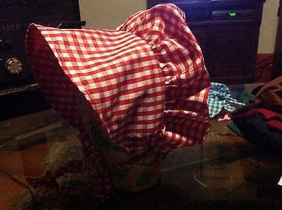adult bonnet pilgrim prarie colonial  many colors - Pilgrim Bonnet