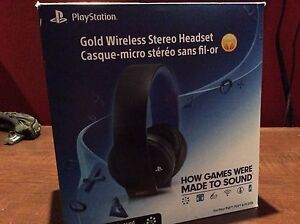 Wireless gold ps4 ou one