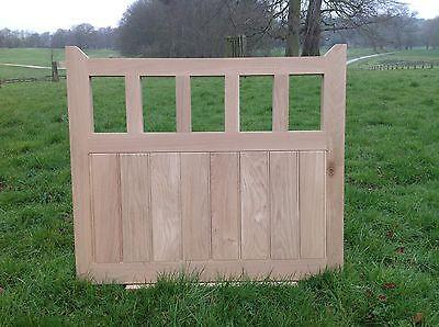 Handcrafted Solid European Oak Gate 4'6