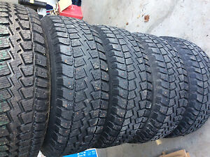 5 x Winter Rims and Tires 265/75R16