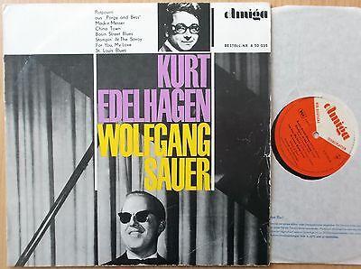 KURT EDELHAGEN & WOLFGANG SAUER  DDR AMIGA  LP: 1965 (850035) FOR YOU MY LOVE+