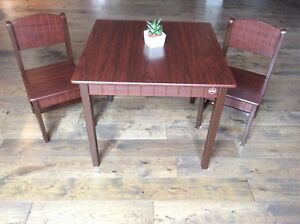 Child's Table and Chairs - Kid Kraft
