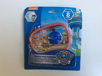 ☺ Jouet Projector Camera 8 Images Paw Patrol Nickelodeon Neuf