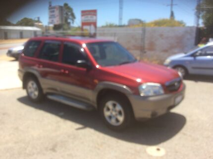 MAZDA TRIBUTE TRAVELLER 4WD AUTO WAGON. Wangara Wanneroo Area Preview