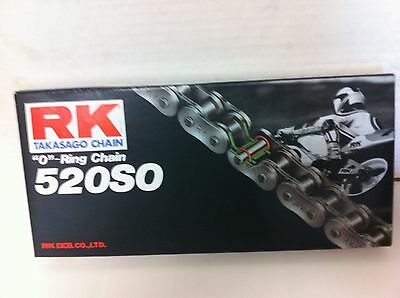 RK 520SO O-Ring Motorcycle Chain Connecting Link (Rivet-Type) MADE IN (O-ring Motorcycle Chain Rivet)