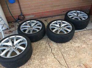VE clubsport wheels R8 staggered Salisbury Plain Salisbury Area Preview