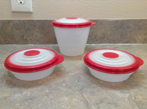 Tupperware Stuffables Mini Bowls- Set Of 3-