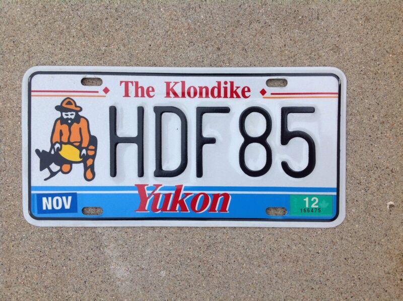 CANADA - YUKON - LICENSE PLATE - THE KLONDIKE
