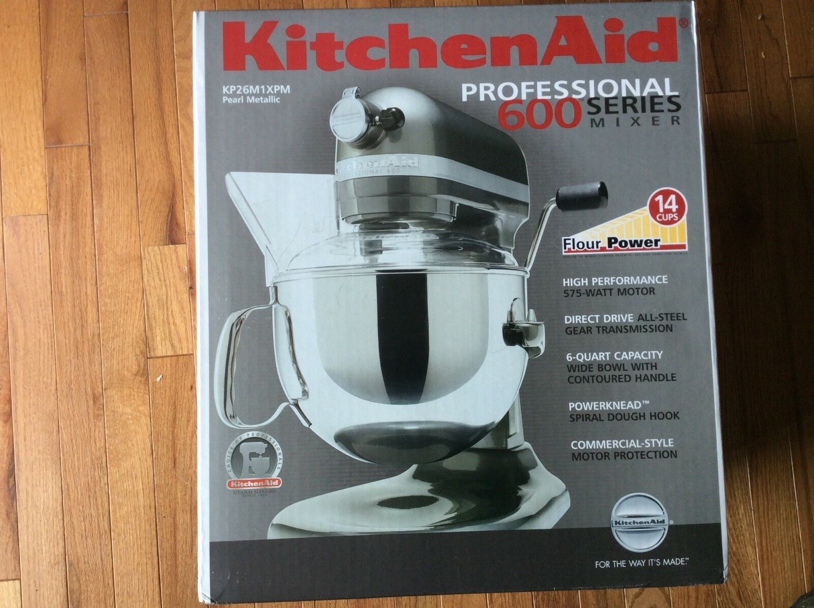 KitchenAid KP26M1XPM Professional 600 Series 6-Quart Stand M