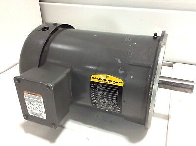 New Baldor Vm3703 3hp Electric Motor 208v 230v 460v 3phase 1725rpm 213c Frame