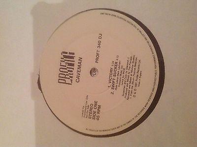Caveman-Victory/Swift Sucker/Cool 12 Hip Hop Vinyl Profile Records 1991 Promo