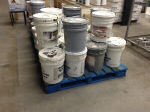 Brand New 5 Gallon Pails of Paint at the HFH ReStore