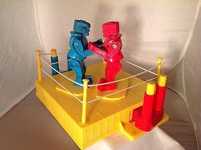 Rock 'em Sock 'em Robots Game 2001 Mattel Used