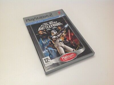 STAR WARS Battlefront Sony Playstation 2 Game PAL PS2 PLATINUM