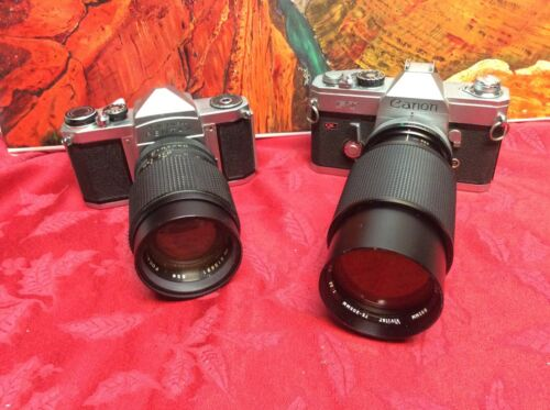 2 Vintage Cameras for Display Only as They May Not Work  - Sold As Is  LOT #110